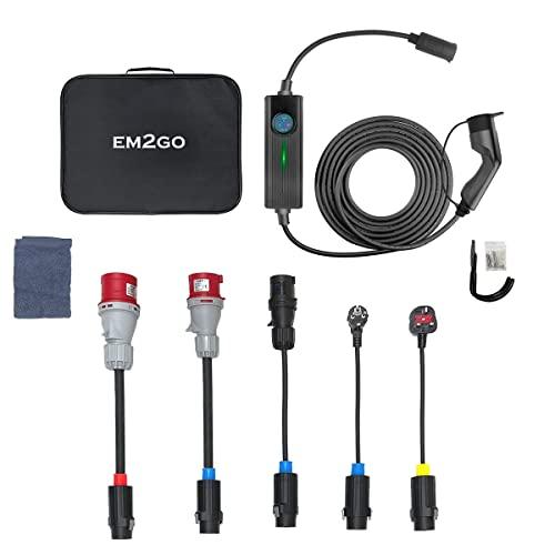 Fontastic EM2GO 2 Wallbox 11kw / 22kW - 32A 3-Phasig, 1-Phasig...