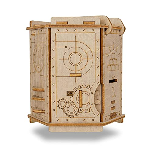ESC WELT Fort Knox - Holz Rätselbox Knobelspiele das als...