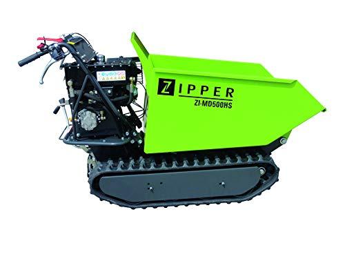 ZIPPER ZI-MD500HS Raupendumper Motorschubkarre Mini Dumper...
