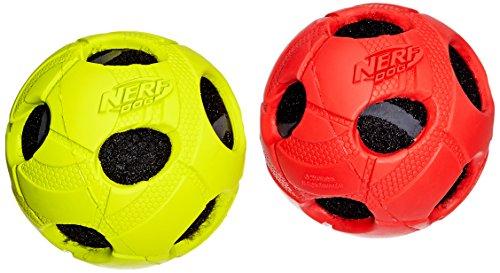 Nerf Dog Wrapped Squeak Bash Ball: Ø 8,9 cm