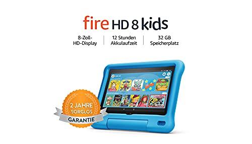 Fire HD 8 Kids-Tablet, 8-Zoll-HD-Display, 32 GB, blaue...