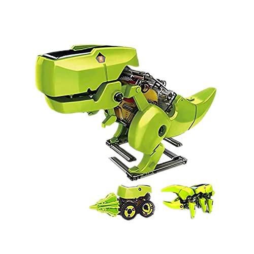 CREACEC Dinosaurier-Baukasten mit Roboter, Droiden-Set...