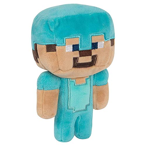 Minecraft 8731 Happy Explorer Diamond Steve Plüsch