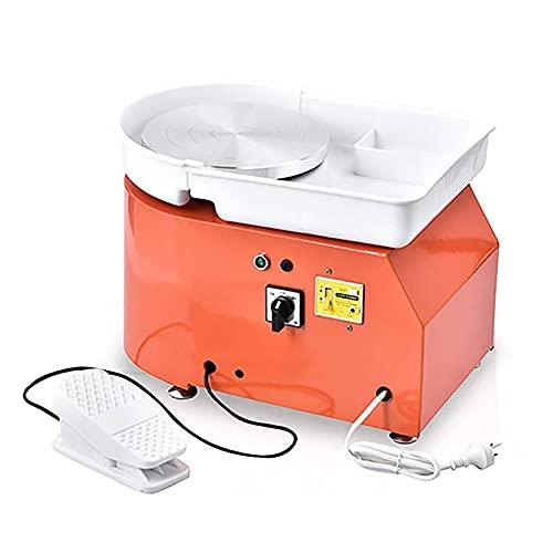TOPQSC Elektrische Töpferscheibe Maschine 25CM 350W Keramik Clay...