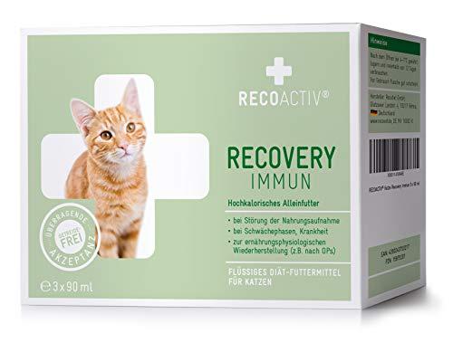 RECOACTIV® Recovery Immun für Katzen 3 x 90 ml -...