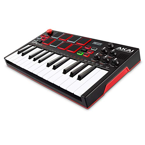 AKAI Professional MPK Mini Play – Standalone Mini Keyboard USB...
