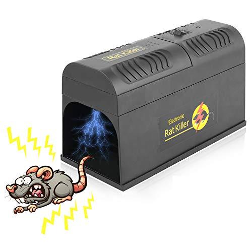 FORMIZON Elektronische Rattenfalle, Effiziente & Sichere...