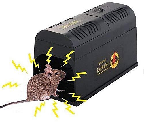 LEIPING 2021 Elektronische Rattenfalle,Mäusefalle Elektrischer...