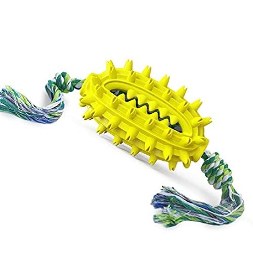 LIUXIA Hundekau-Zahnbürstenspielzeug mit Zahnreinigung und...