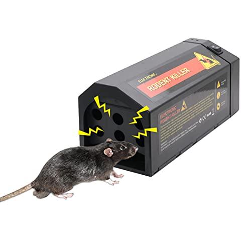 LEIPING 2022 Elektronische Rattenfalle,USB-Ladegerät Mäusefalle...