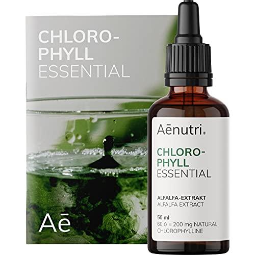 Chlorophyll Tropfen Essential flüssig | 200 mg liquid...