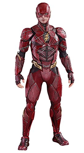 Hot Toys The Flash MMS448 Marvel 1/6th Scale Movie Masterpiece Collectible Justice League...