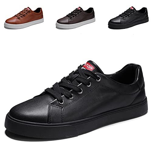 Herren-Lederschuhe, modische Sneaker, Lederschuhe, Oxford,...