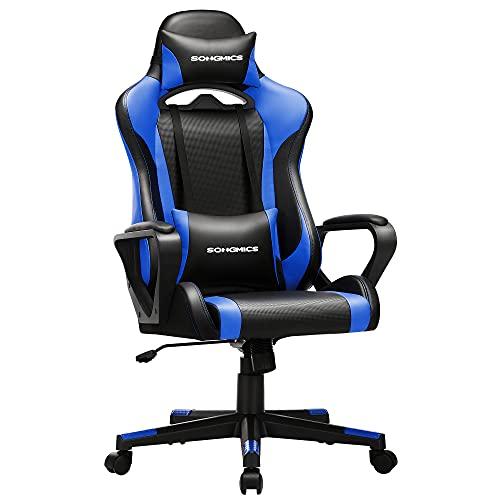 SONGMICS Gaming Stuhl, Schreibtischstuhl, Computerstuhl,...