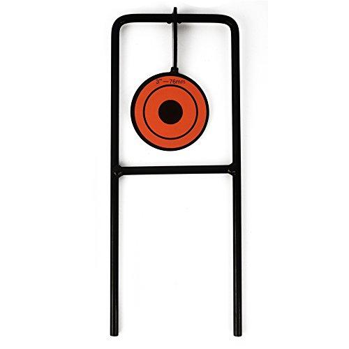 Taktische 1-Plate Reset Shooting Spinner Ziel Metall Stahl Auto...