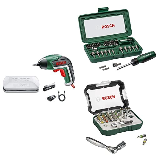 Bosch Akkuschrauber IXO (5. Generation, in Aufbewahrungsbox) +...