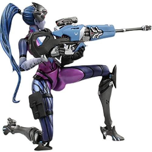 MKXULO Overwatch Widowmaker Action Figure Anime PVC Cartoon...