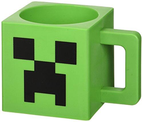 Minecraft Tasse aus Kunststoff Creeper-Gesicht