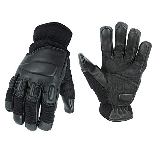 TacFirst Allrounder II Polizei, Security Handschuhe, Schwarz, L