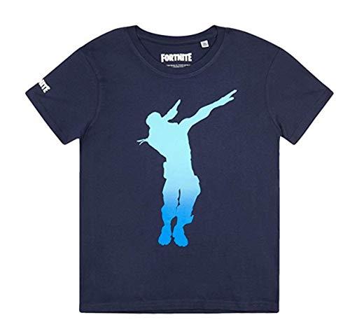 Fortnite Jungen T-Shirt (176, Blau)