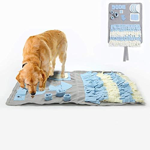 YAMI Schnüffelteppich für Hunde Schnüffelrasen Hund...