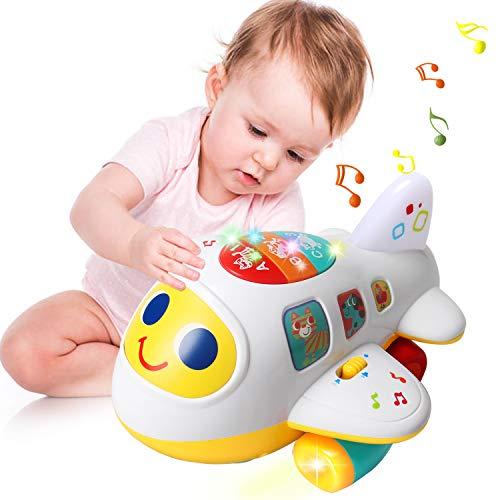 ACTRINIC Baby Spielzeug 12-18 Monate elektronisches Flugzeug...