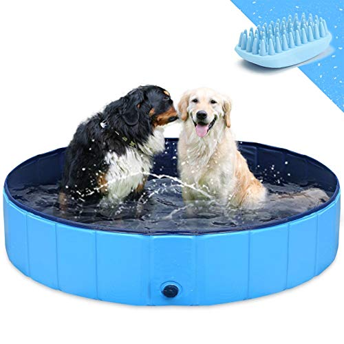 GoStock Hundepool Schwimmbecken Faltbarer Hund Planschbecken...