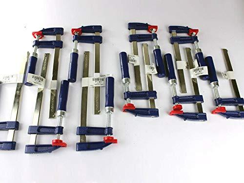 10 x Schraubzwinge Set 150x50 + 200x50 Zwinge Klemmzwinge...