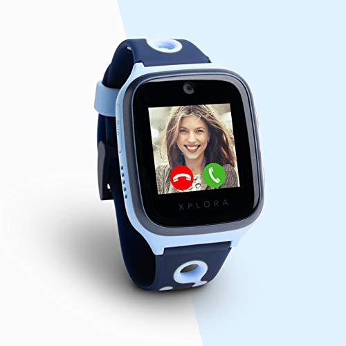 Xplora 4 Kids Smartwatch Ozeanblau inkl. SIM-Karte im Vodafone...