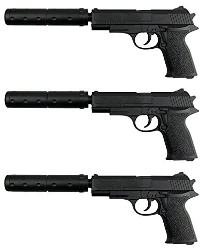 3 Stück - B.W. Softair Gun Airsoft Pistole + Munition | 29633 -...