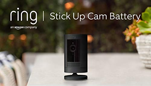Ring Stick Up Cam Battery von Amazon | HD-Sicherheitskamera mit...
