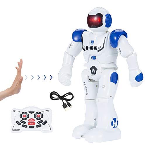SENYANG Roboter Kinderspielzeug - Roboter Kinder RC Fernbedienung Intelligenter Roboter...