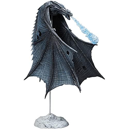 Yuxunqin Game of Thrones Viserion Ice Dragon PVC Figuren...