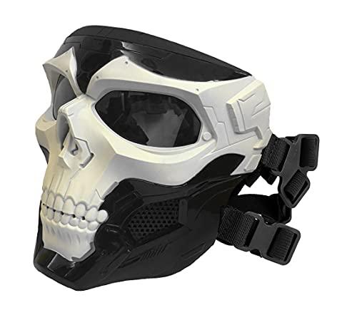 WISEONUS Airsoft Taktisch Schädel Messenger Masken...