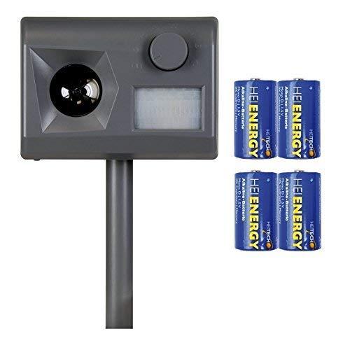 Weitech Garden Protector 3 - inklusive 4 Heitech Mono/D Batterien...