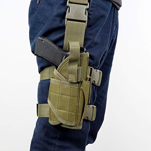 YOCOOL Pistolenholster Waffenholster Oberschenkelholster taktisch...