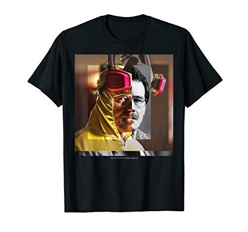 Breaking Bad Heisenberg Walter White Split Head Poster T-Shirt