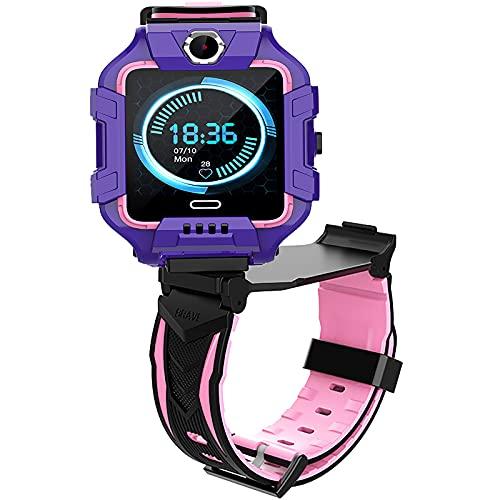 shjjyp Integrierte Smartwatch für Kinder, GPS-Uhr, für Jungen...