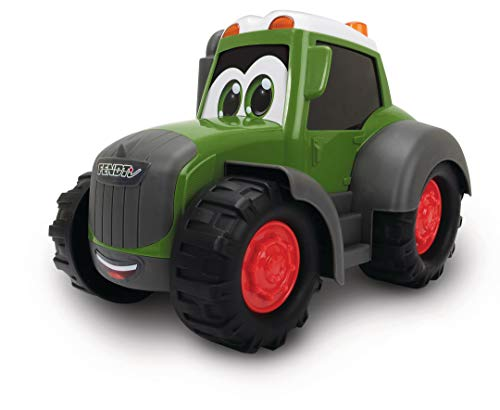 Dickie Toys Happy Fendt Traktor, Trecker, Bauernhof Spielzeug, keine verschluckbaren Teile,...
