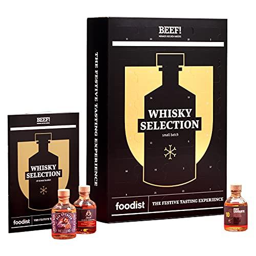 Foodist BEEF! Whisky Adventskalender 2021 - 24 x 50ml Whiskey...