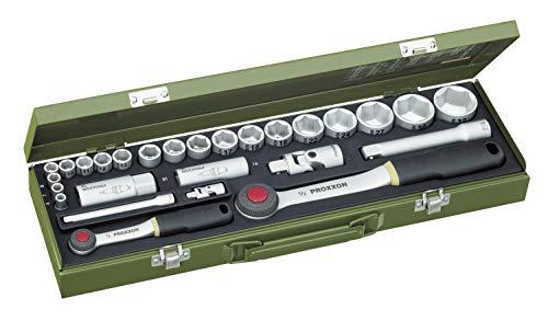 PROXXON Steckschlüsselsatz, Für alle wichtigen PKW-Schrauben...