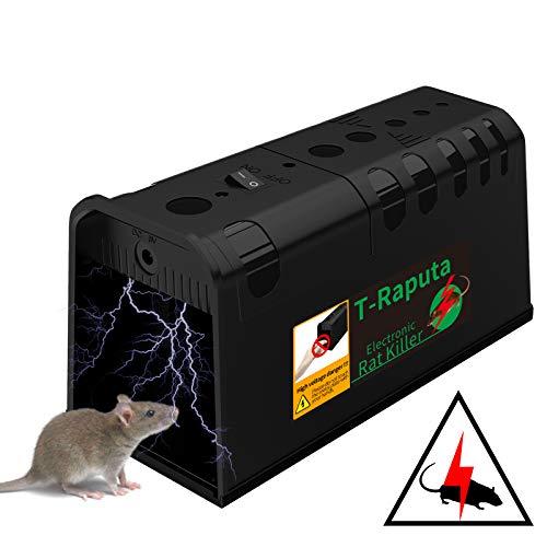 T-Raputa elektronische mausefalle,Mausefalle, zum Fangen von...
