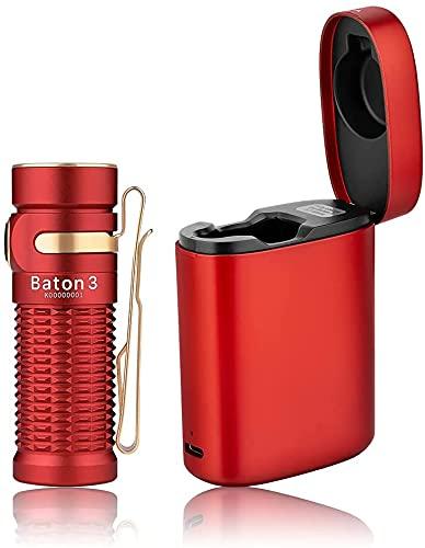 OLIGHT Baton 3 PREMIUM EDITION Mini LED Taschenlampe mit...
