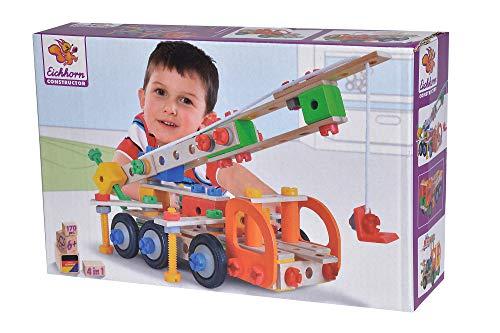 Eichhorn 100039094 Constructor Kranwagen vielseitiges...