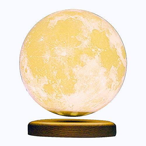 WLY Schwebende Mond Lampe, 3D Druck Magnetische Mondlampe Der...