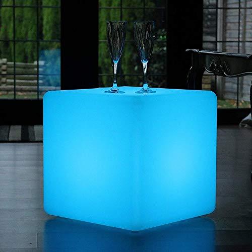 Paddia Wärme, Romantik Outdoor LED Würfel Hocker Stehlampe...