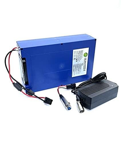 48V 18Ah Lithium Akku inkl. Ladegerät Elektro Scooter Batterie...