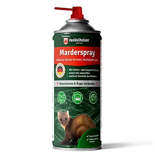 Veddelholzer Marderspray für Auto, Dachboden & Garage | 400 ml |...