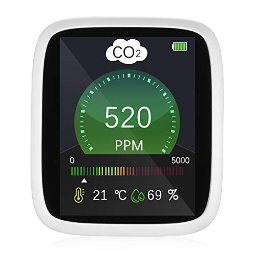 Kohlendioxid Monitor, Vogvigo 3-in-1-CO2-Detektor, Temperatur-,...