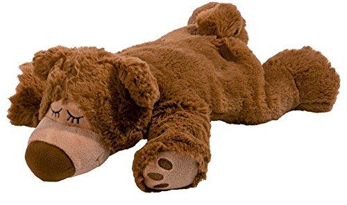 Warmies® Wärmekissen/Stofftier'Sleepybear braun' Hirse...